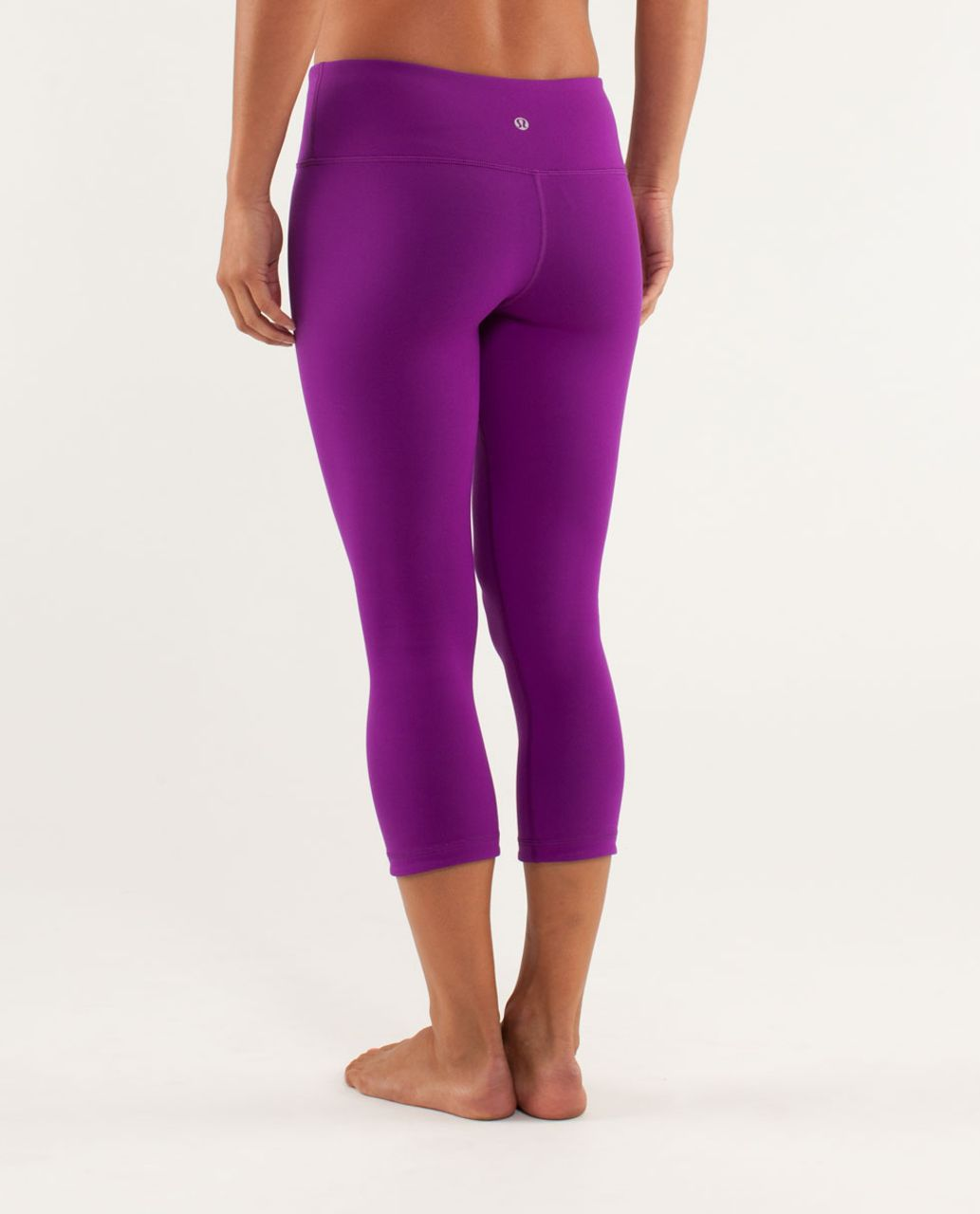 Lululemon Wunder Under Crop *Reversible - Tender Violet / Black