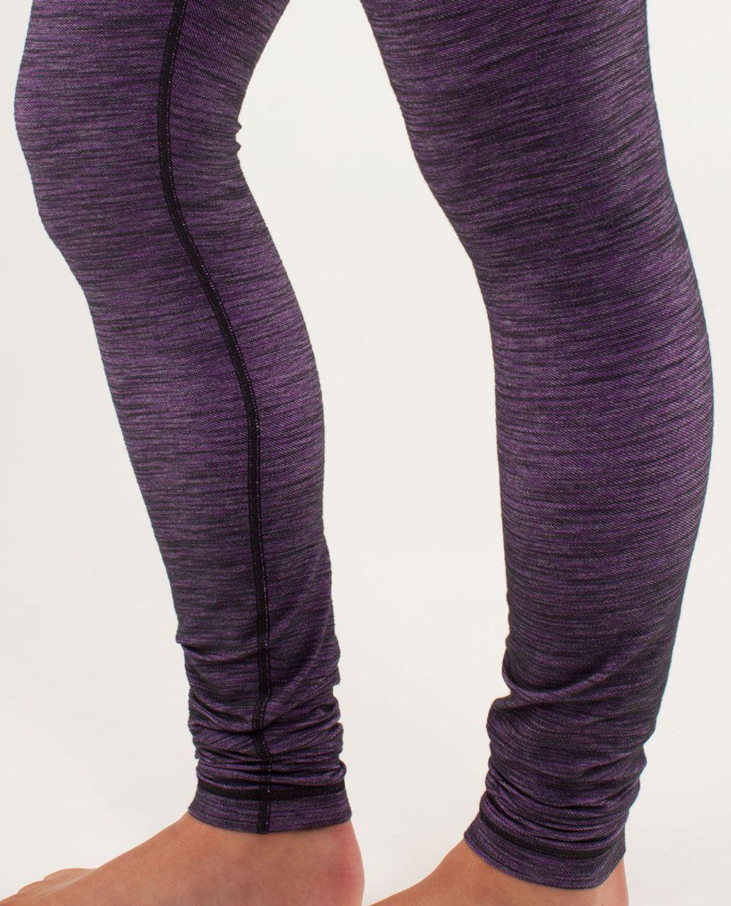 Lululemon Wunder Under Pant *Denim - Reversible Slub Denim Tender Violet