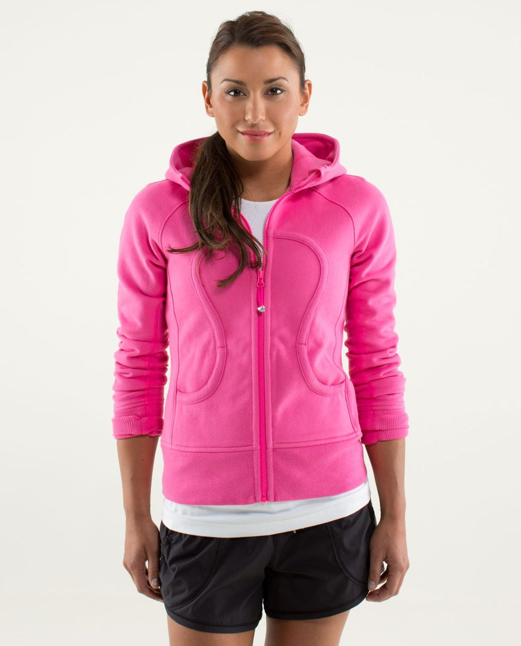 Lululemon Scuba Hoodie *Stretch - Raspberry Glo Light