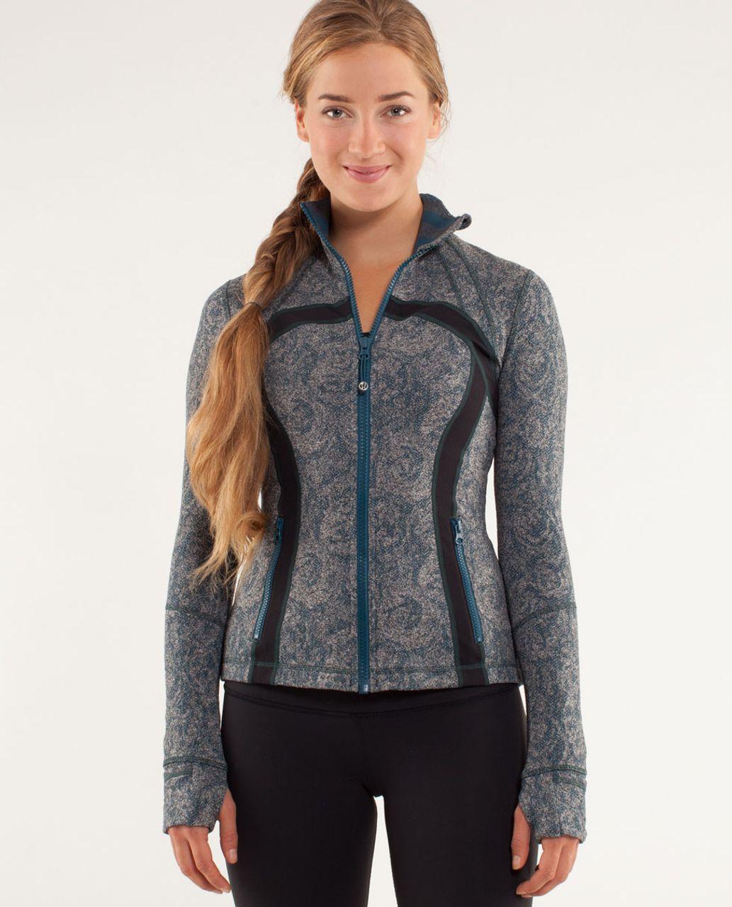 Lululemon Define Jacket *Brushed - Rose Herringbone Alberta Lake / Black / Micro Macro Alberta Lake Heathered Black