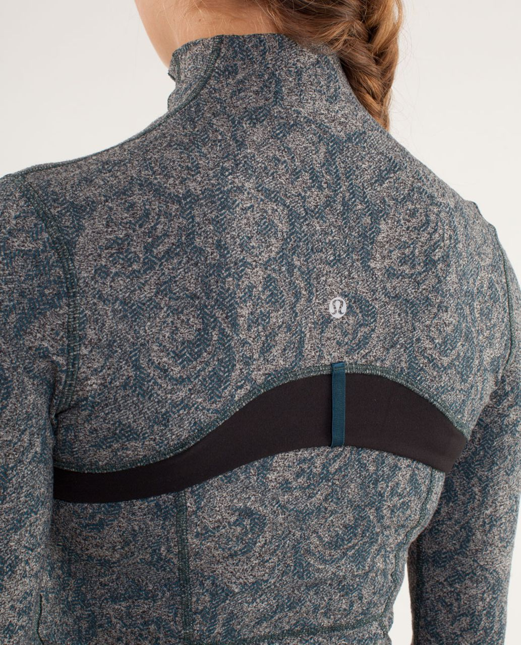 Lululemon Define Jacket *Brushed - Rose Herringbone Alberta Lake / Black / Micro Macro Alberta Lake Heathered Black