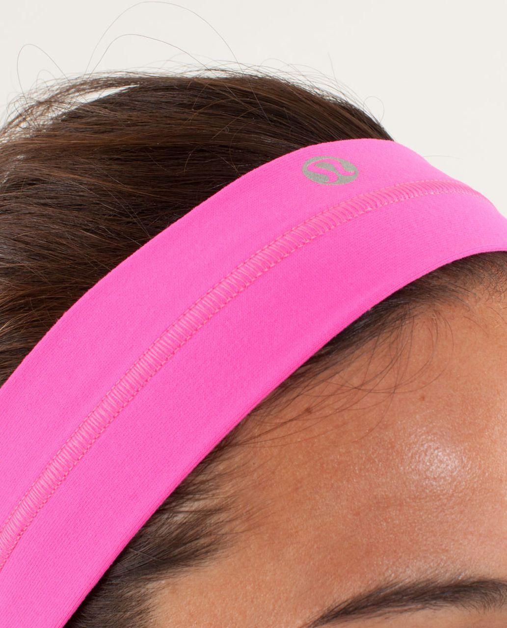 Lululemon Fly Away Tamer Headband - Raspberry Glo Light (First Release)
