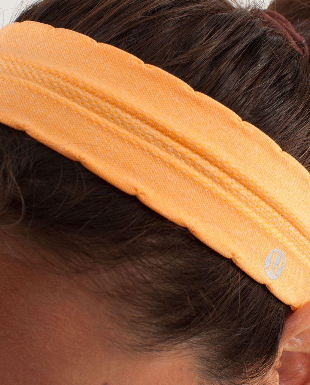 Lululemon Swiftly Headband - Creamsicle Pop