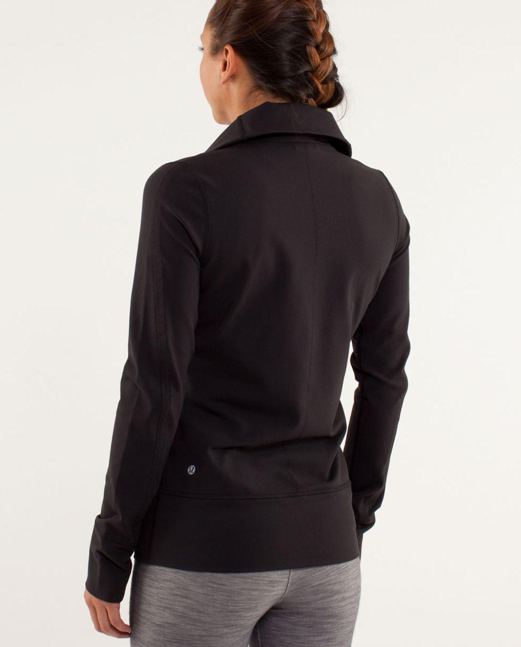 2b4c40635f Lululemon Daily Yoga Jacket - Black - lulu fanatics