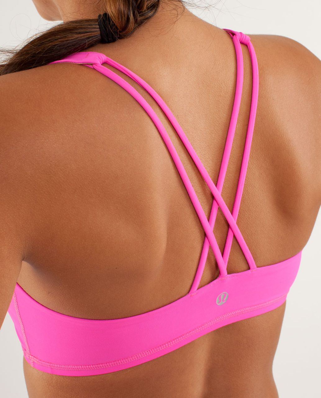 Lululemon Free To Be Bra (First Release) - Raspberry Glo Light