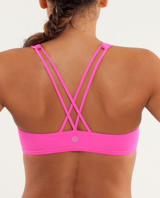 64d6b65658 Free To Be Bra (First Release) - Raspberry Glo Light