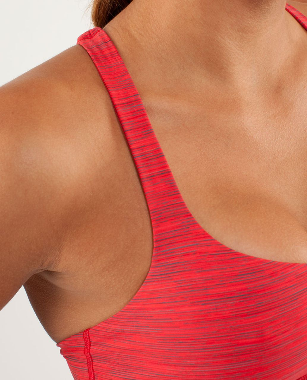 Lululemon Free To Be Bra - Wee Are From Space Love Red