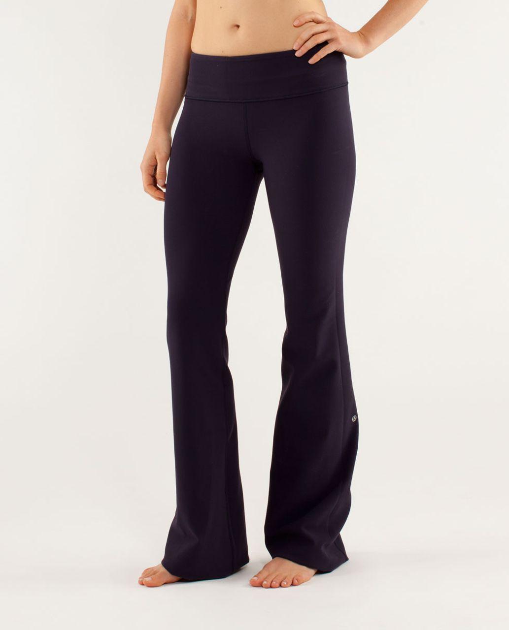 Lululemon Groove Pant *Slim (Regular) - Black Swan / Herringbone Black Swan / Slope Stripe Raspberry Glo Light