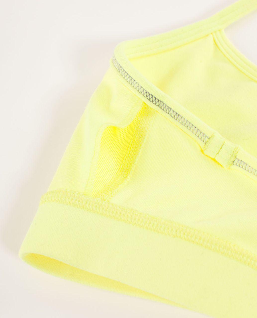 Lululemon Flow Y Bra IV - Clarity Yellow