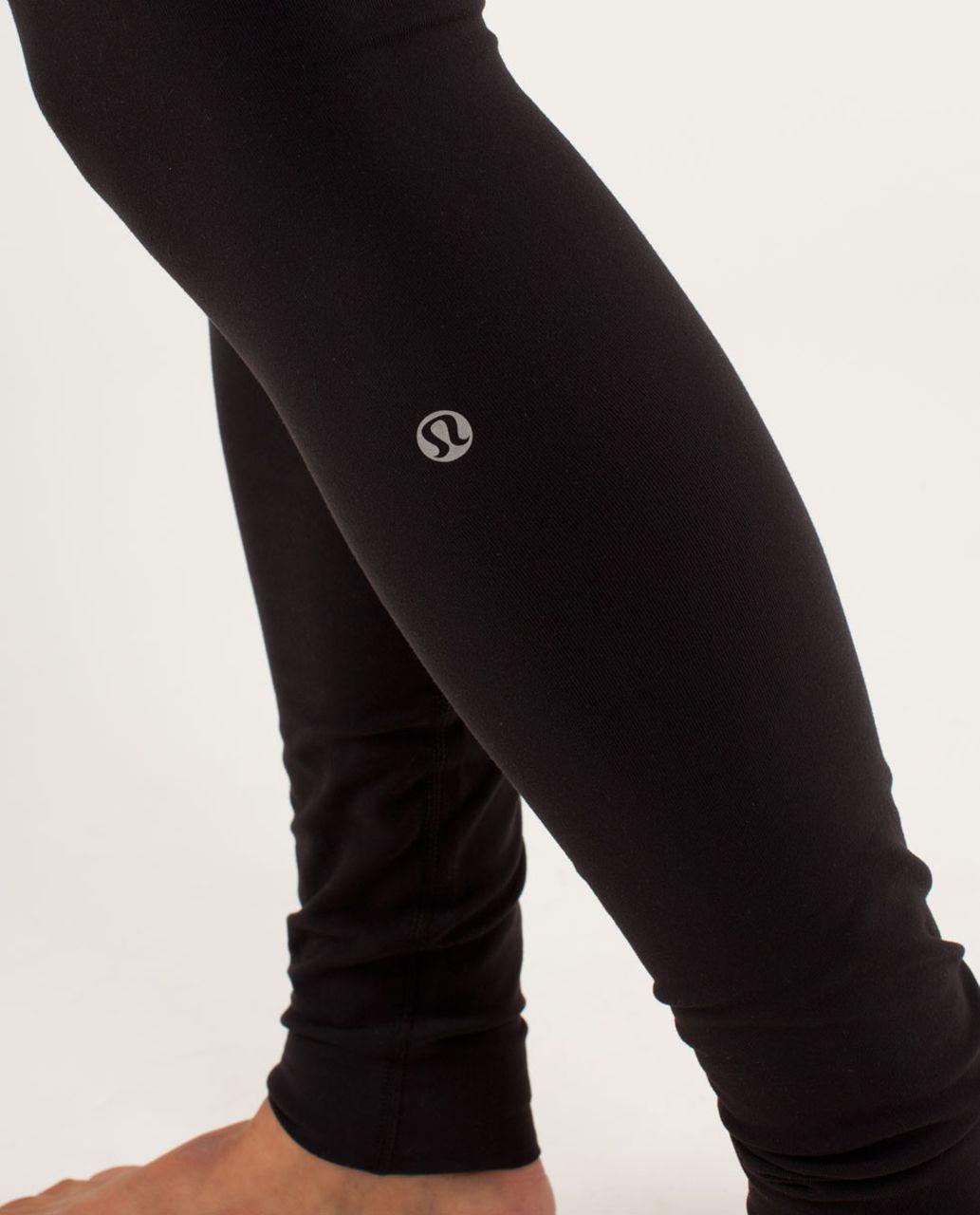 Lululemon Wunder Under Pant - Black / Quilting Winter 9