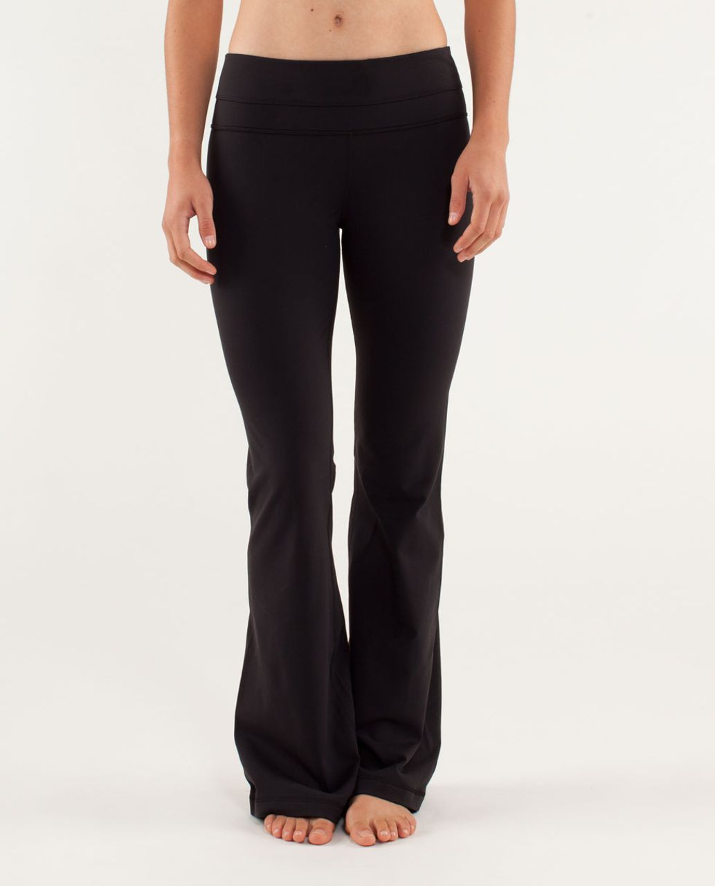3884b9ee0 Lululemon Groove Pant  Brushed Slim (Regular) - Black - lulu fanatics