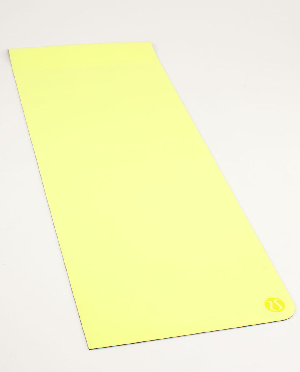 Lululemon The Mat - Clarity Yellow / Deep Coal