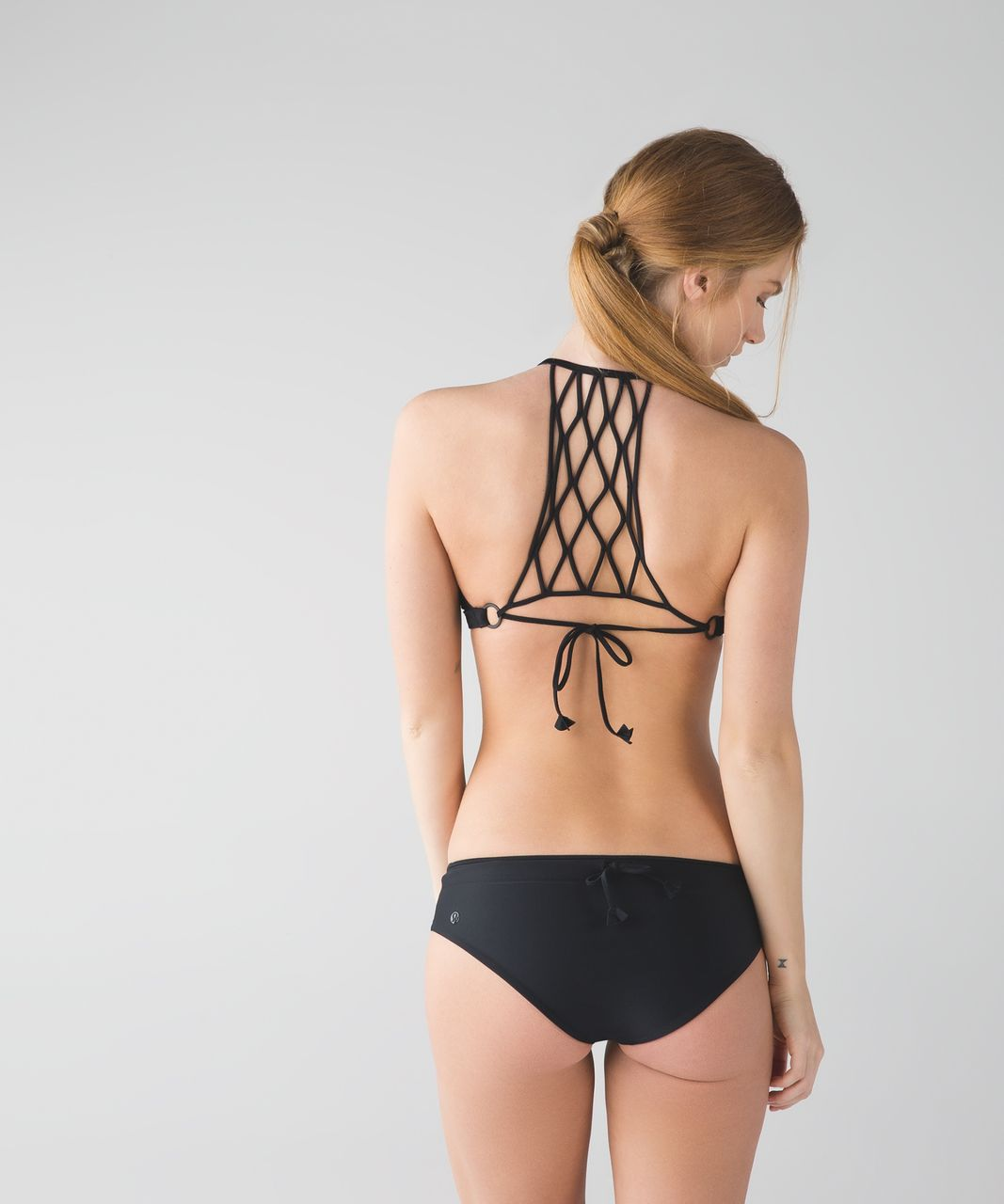 Lululemon Tidal Flow Net Top - Black