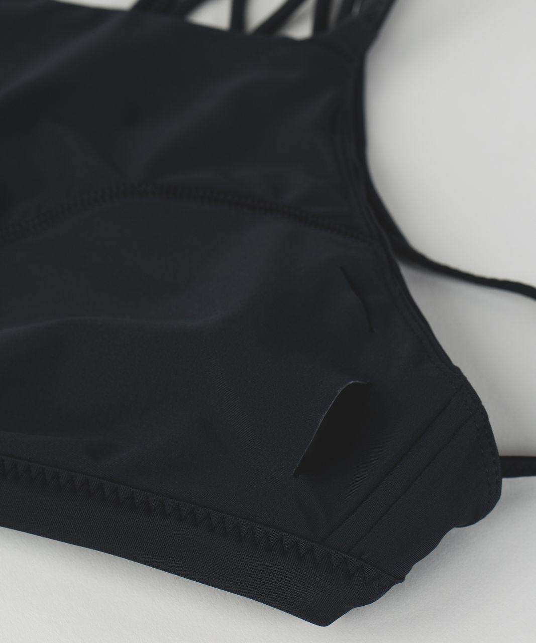 Lululemon Tidal Flow Net Top - Black
