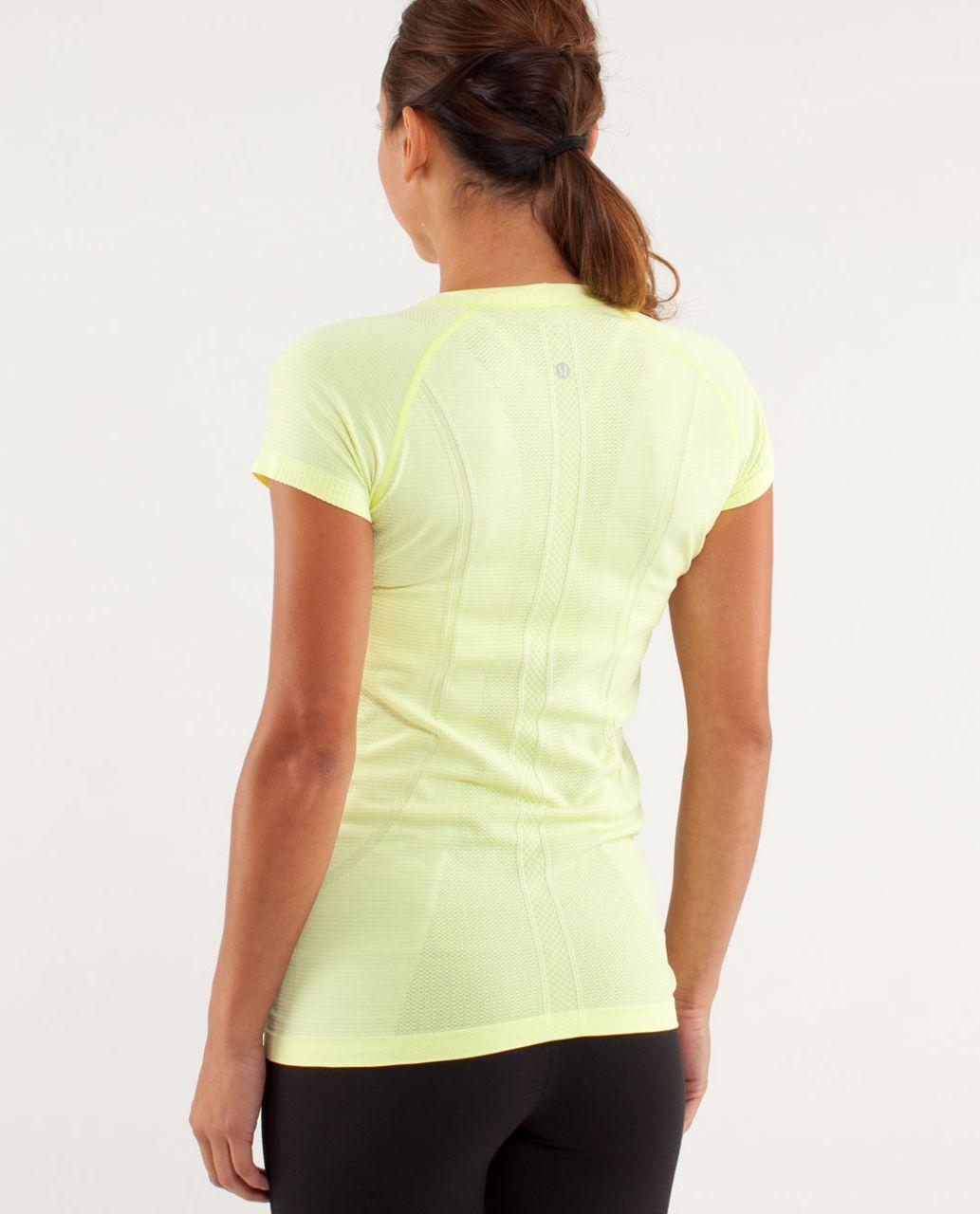 Lululemon Run:  Swiftly Tech Short Sleeve - Clarity Yellow
