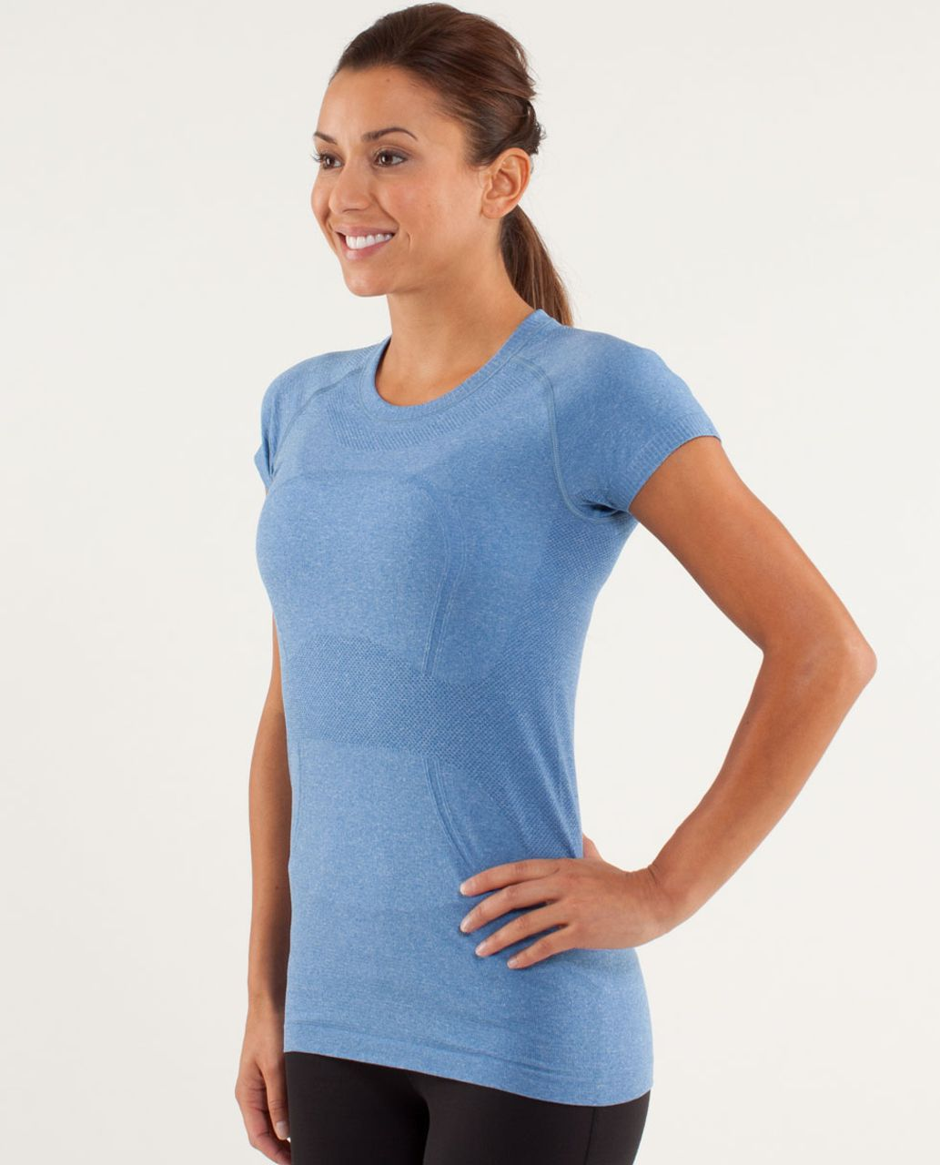 Lululemon Run:  Swiftly Tech Short Sleeve - Limitless Blue