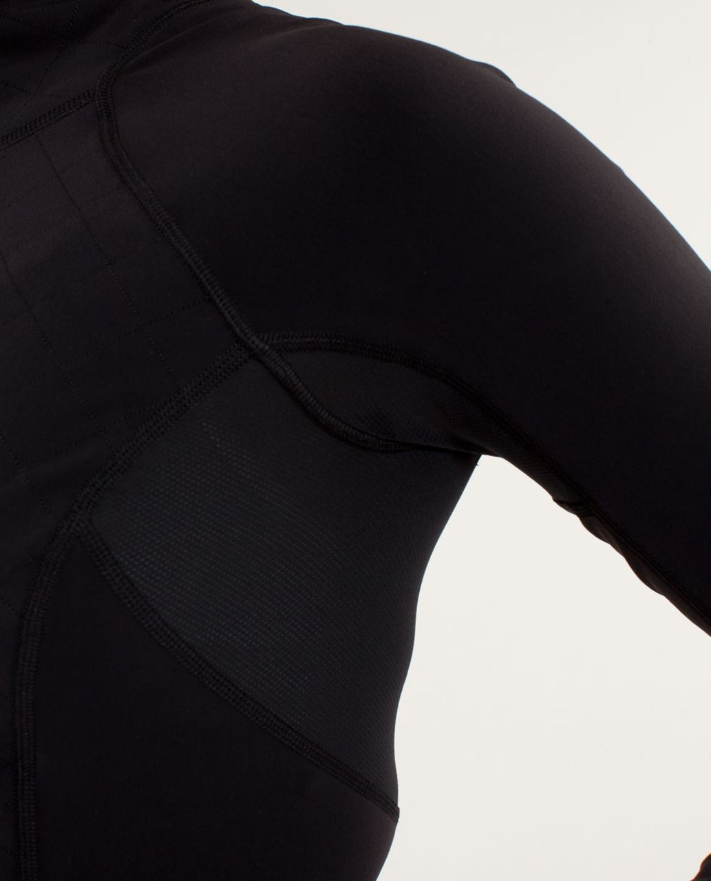 Lululemon Run:  Toasty Tech Pullover - Black