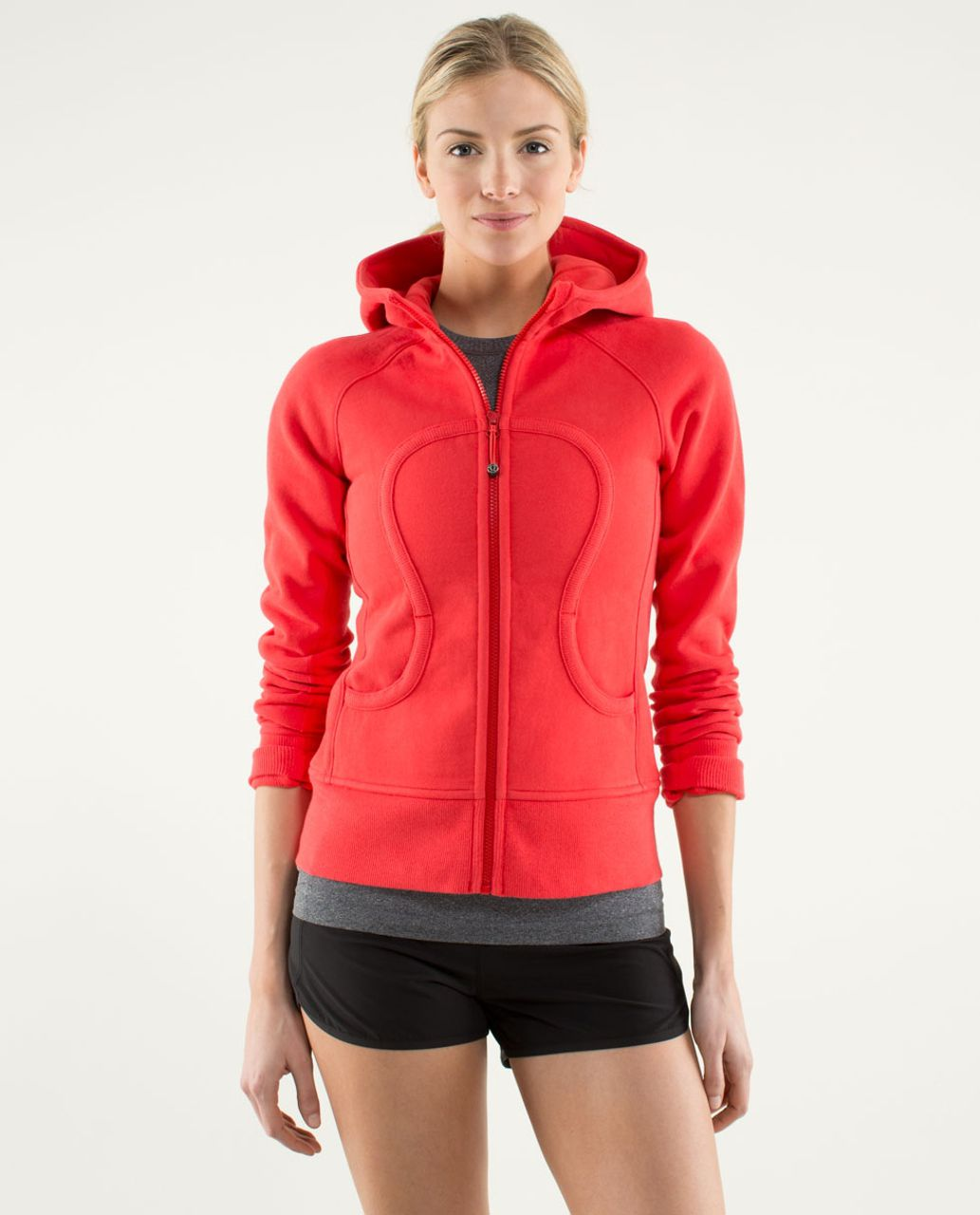 Lululemon Scuba Hoodie *Stretch - Love Red