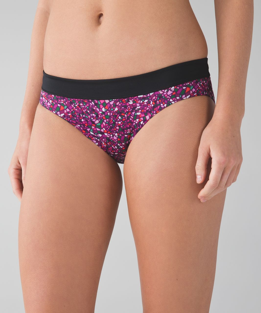 Lululemon Tidal Flow Full Bottom - Paradise Camo Multi / Black / Deep Green