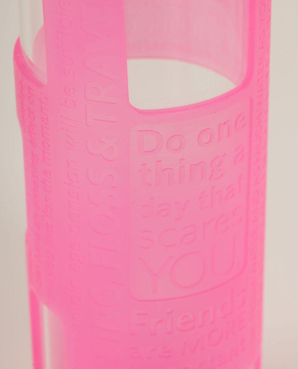 Lululemon Pure Balance Water Bottle - Raspberry Glo Light
