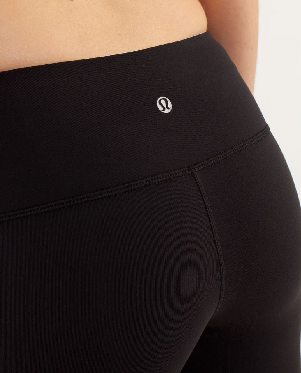 Lululemon Wunder Under Pant *Colour Blocked - Limitless Blue / Black / Wee Are From Space Polar Cream Clarity Yellow