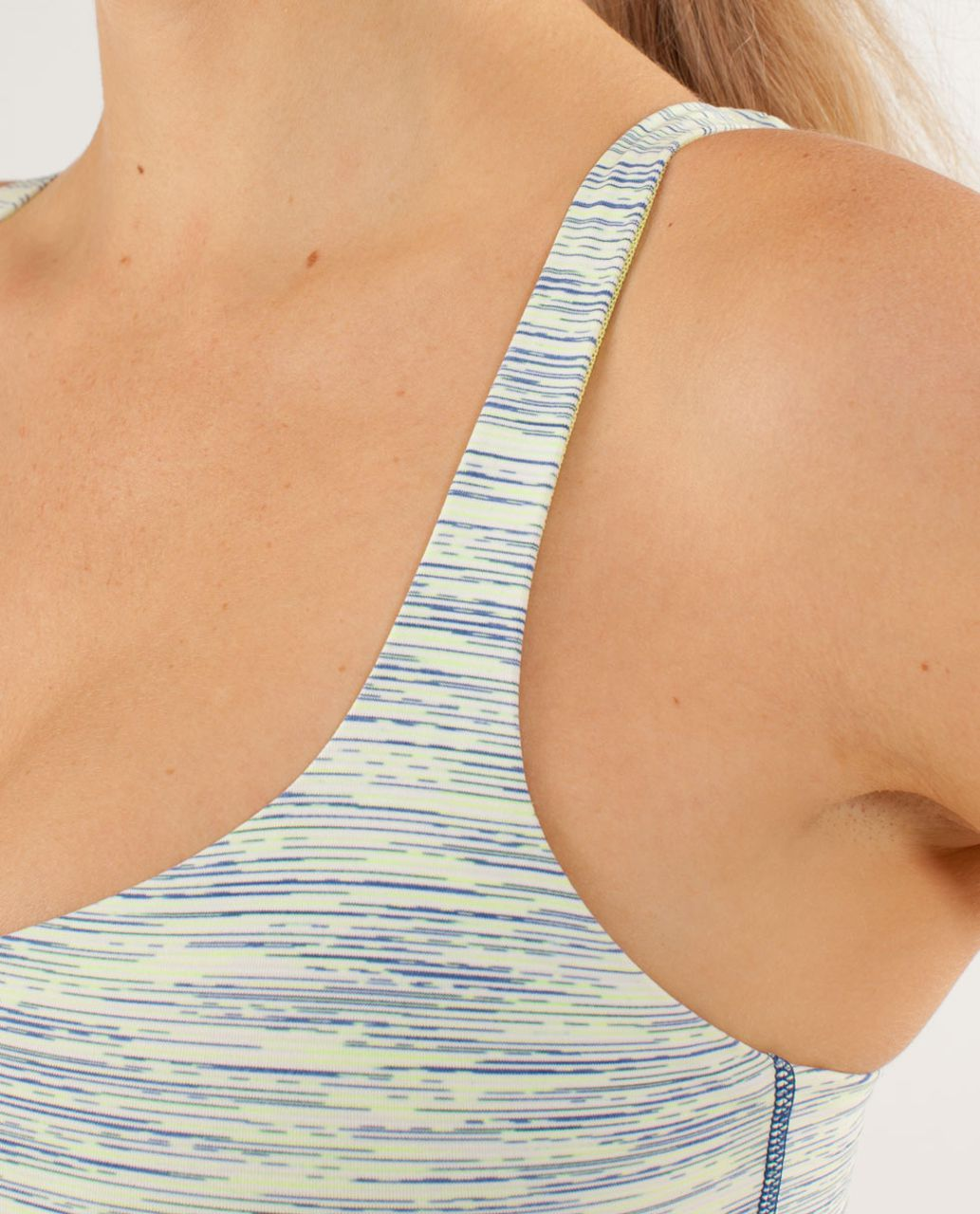 Lululemon Free To Be Bra - Wee Are From Space Polar Cream Clarity Yellow