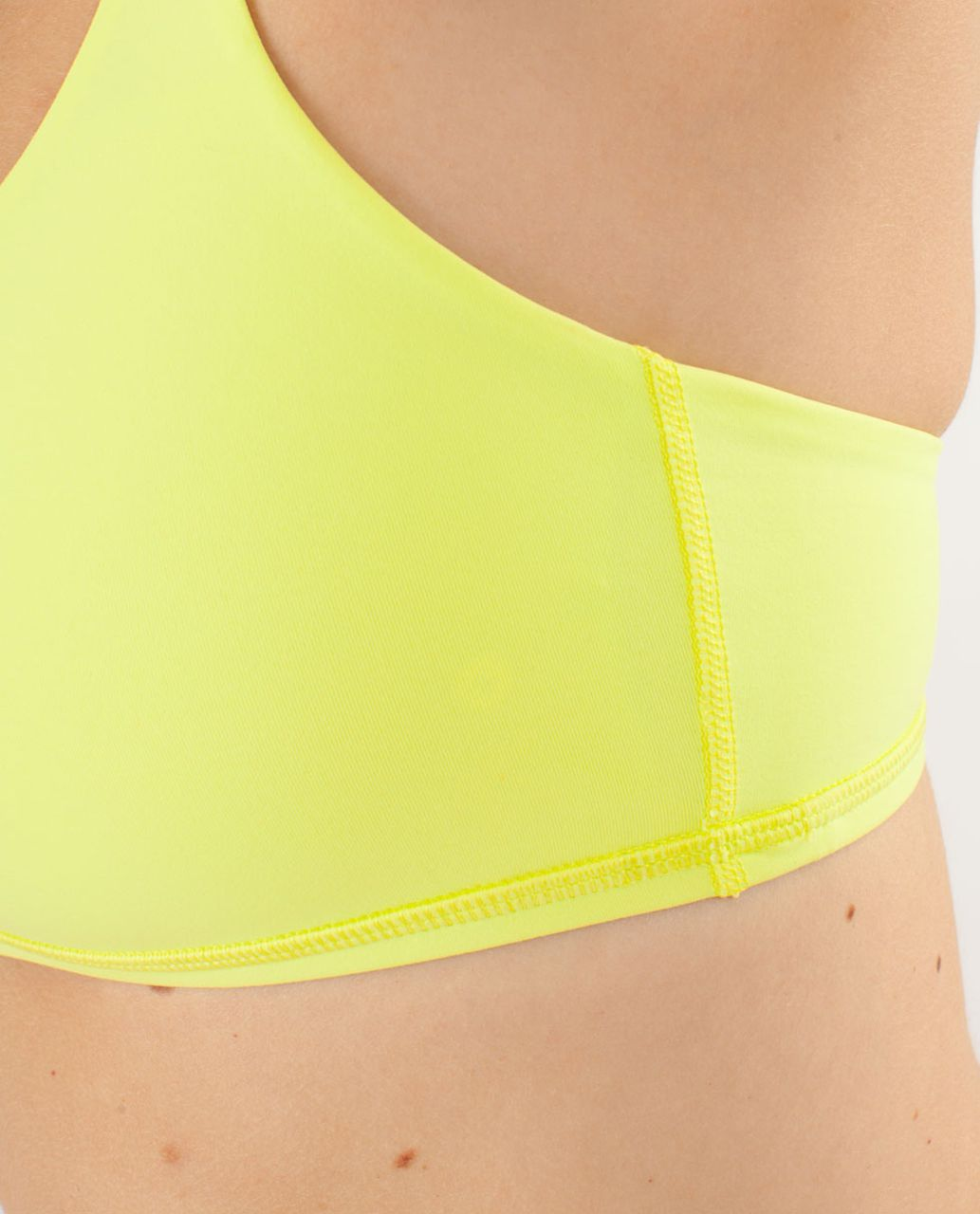 Lululemon Free To Be Bra - Clarity Yellow