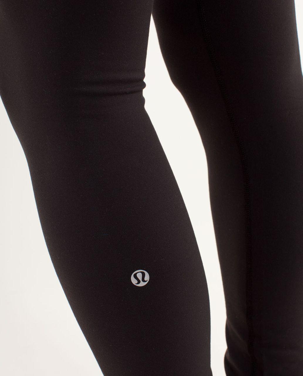 Lululemon Wunder Under Pant - Black / Quilting Winter 8