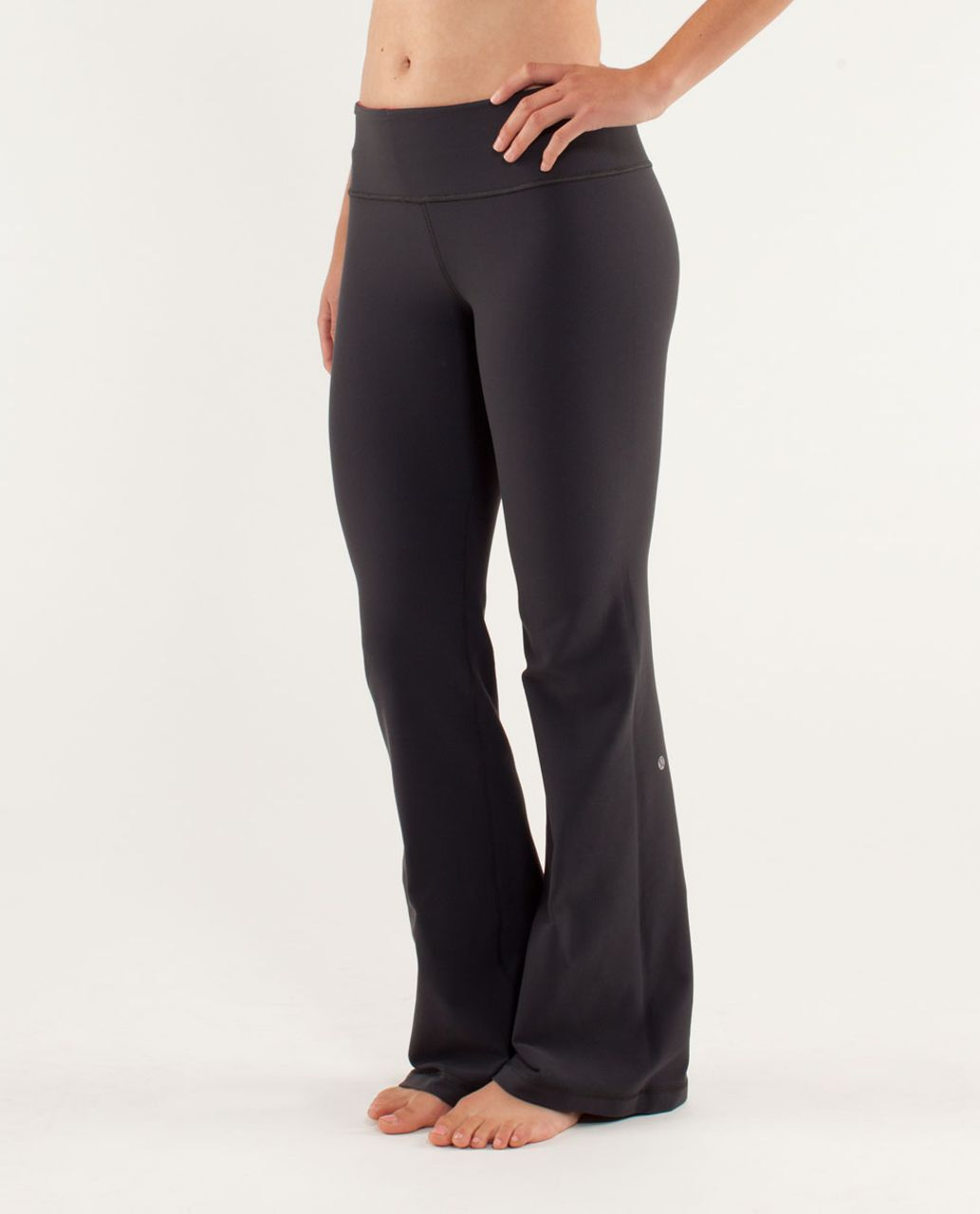 Lululemon Groove Pant *Slim (Regular) - Deep Coal / Slope Stripe Love Red Heathered Fiery Red / Love Red