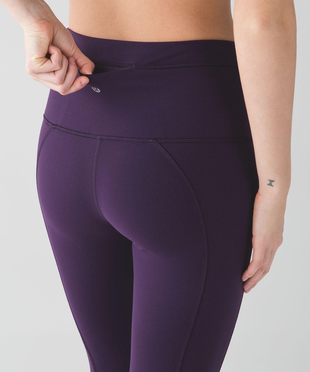 Lululemon Pure Practice Pant - Deep Zinfandel