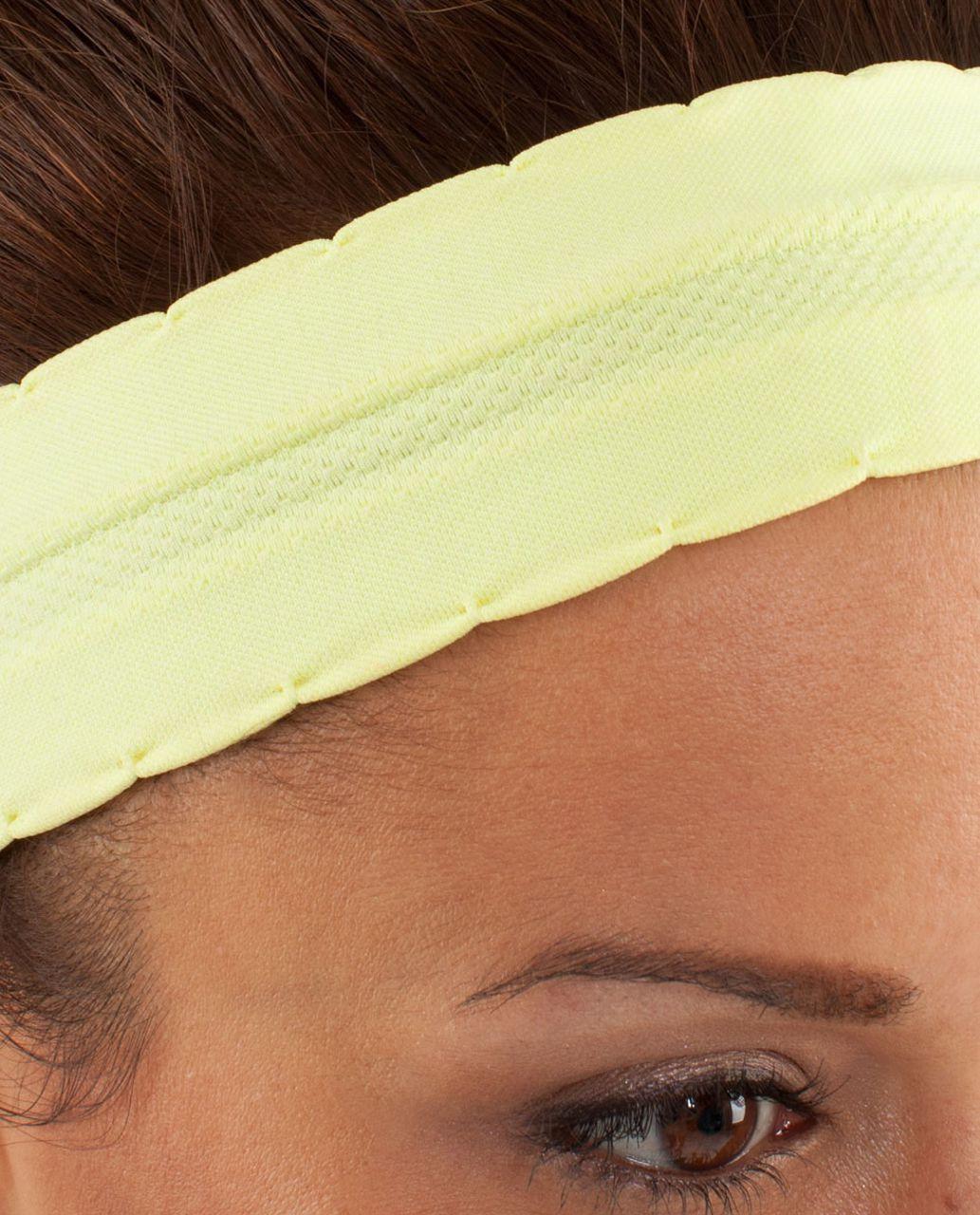 Lululemon Swiftly Headband - Clarity Yellow