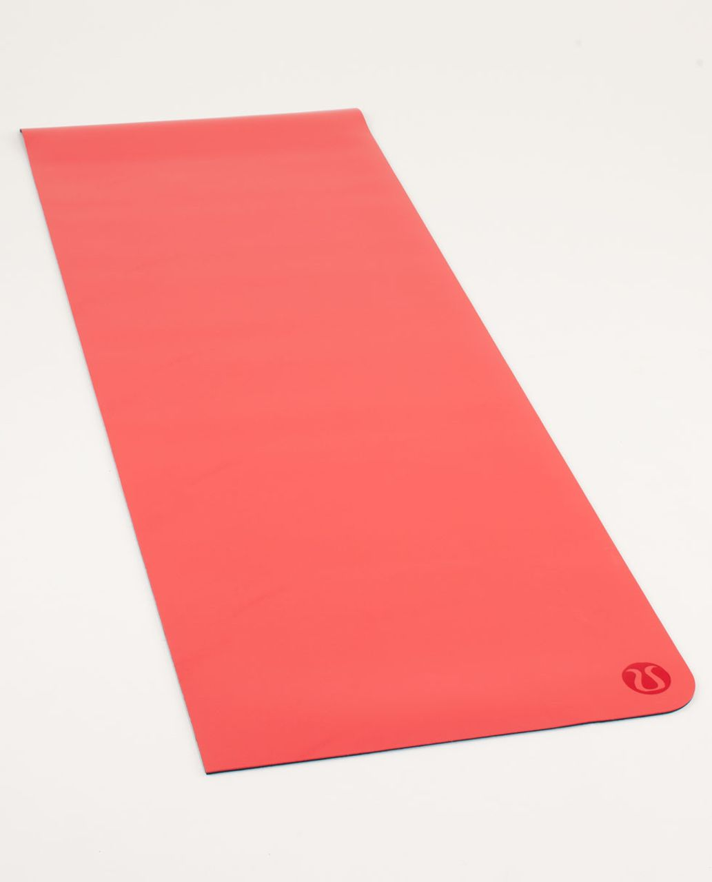 Lululemon The Mat - Love Red / Deep Coal