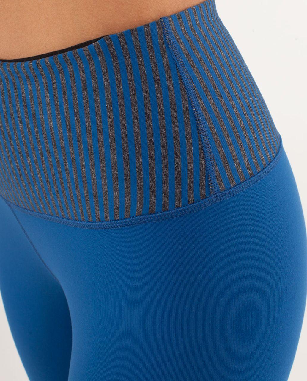 Lululemon Wunder Under Pant *High Rise - Limitless Blue / Slope Stripe Limitless Blue / Black