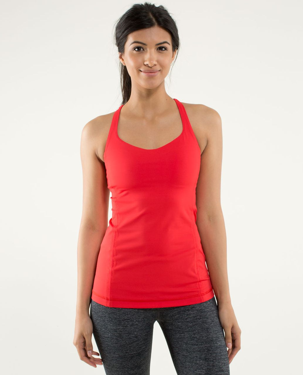 Lululemon Free To Be Tank - Love Red