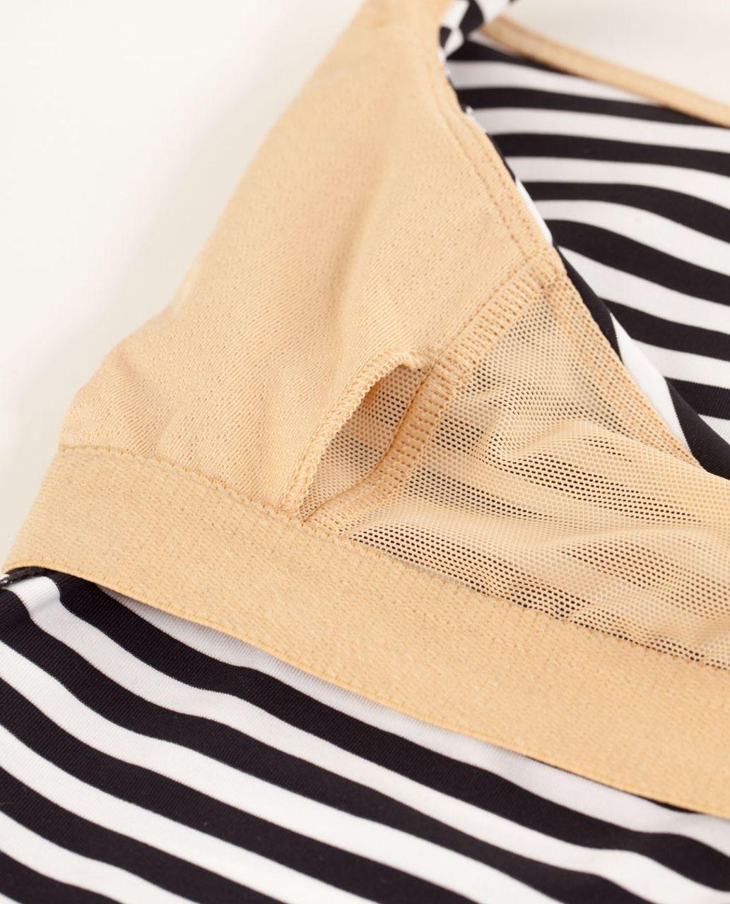 Lululemon Free To Be Tank - Classic Stripe Black White