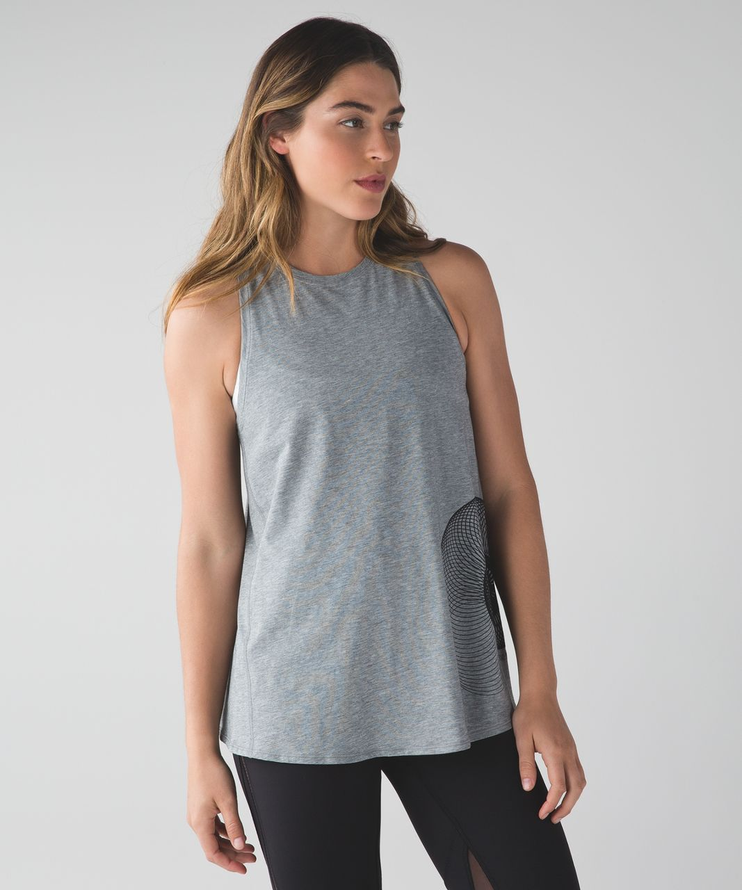 Lululemon Nook Tank - Heathered Medium Grey