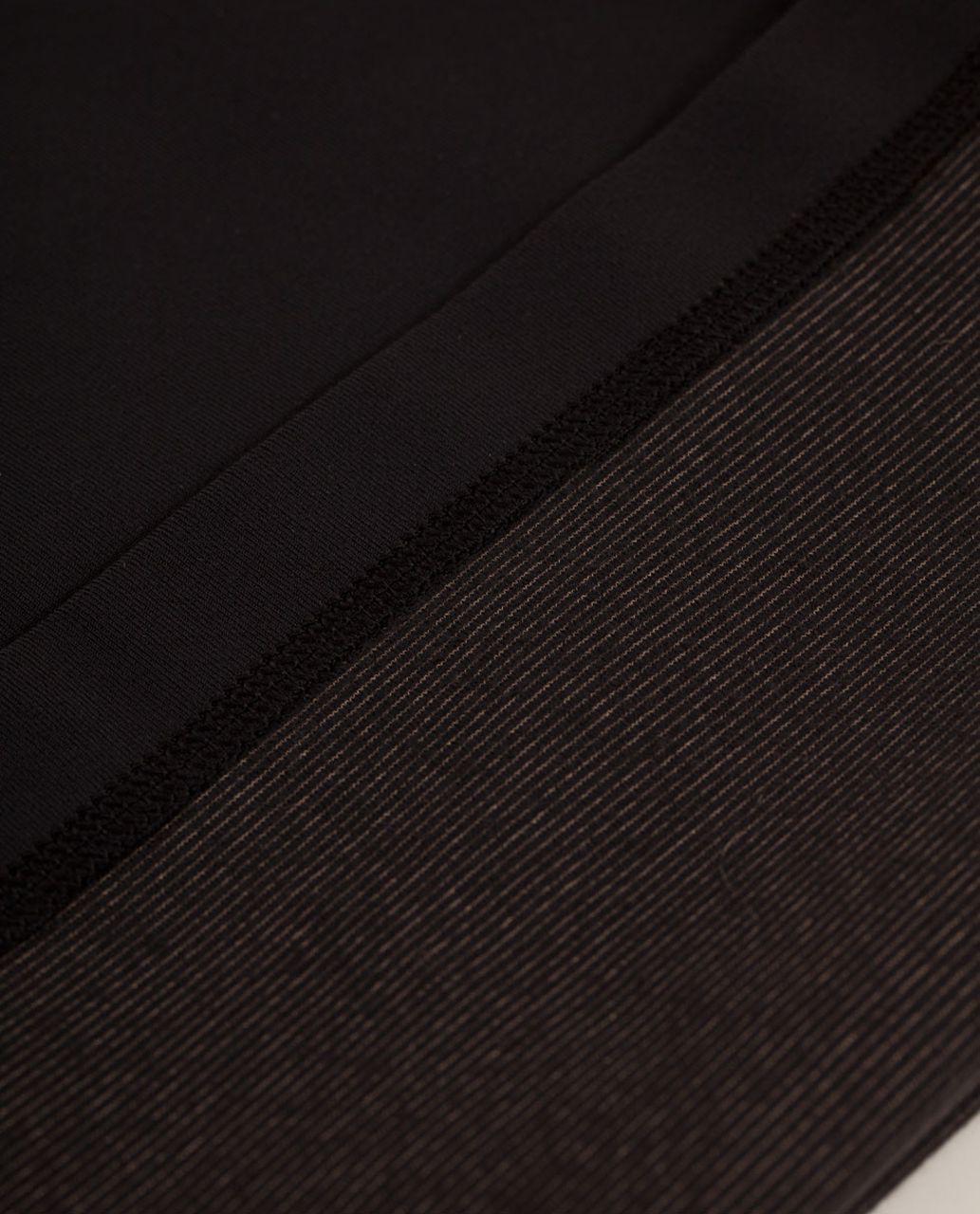 Lululemon Groove Pant *Silver Slim (Regular) - Black /  Quilting Winter 16