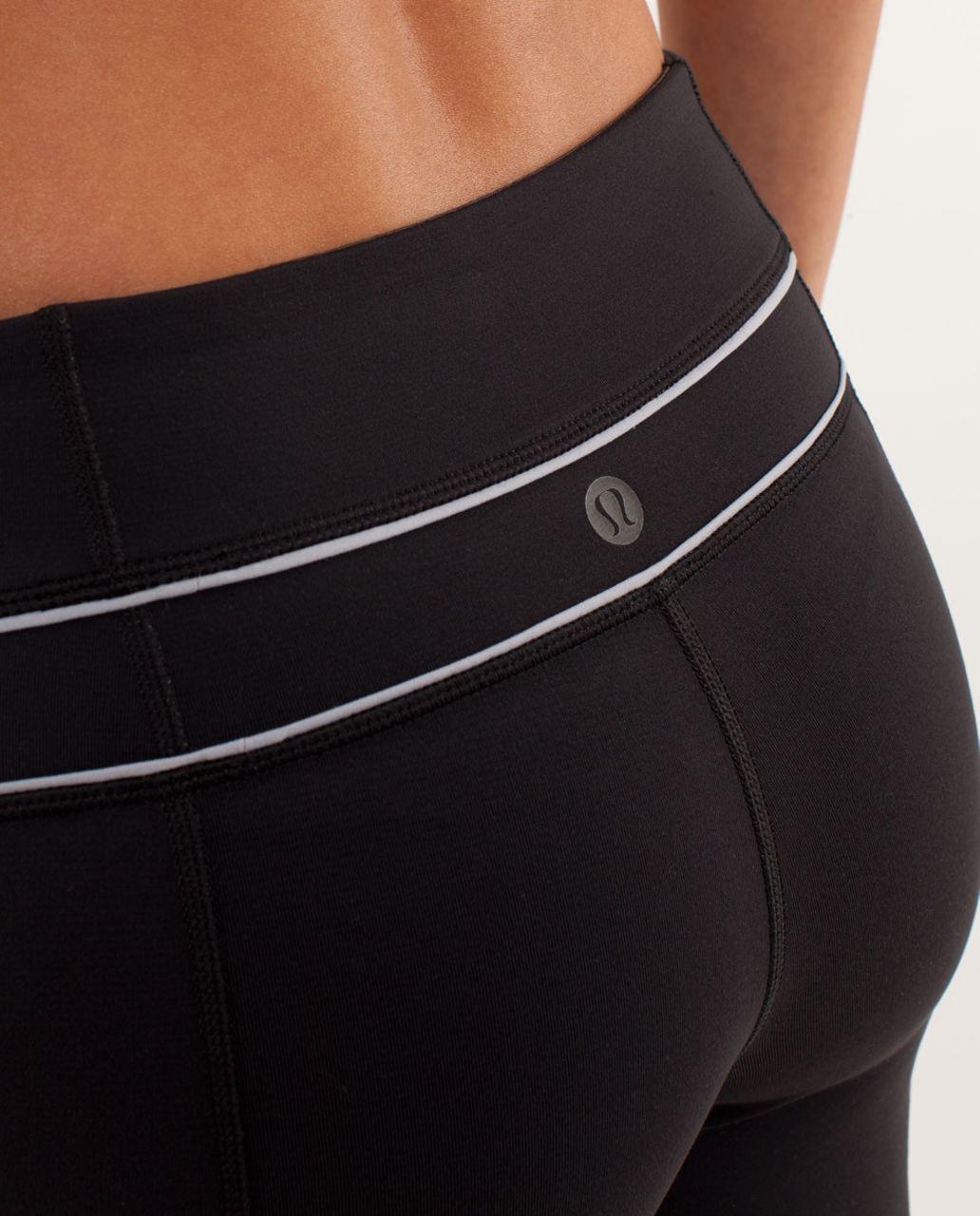 Lululemon Groove Pant *Silver Slim (Regular) - Black / Silver Slate
