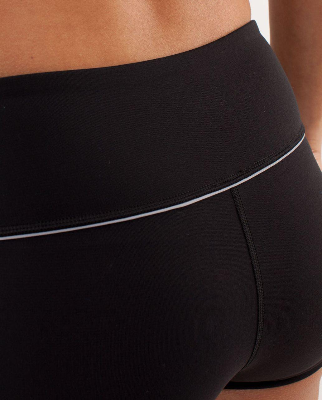 Lululemon Boogie Short *Silver - Black / Silver Slate