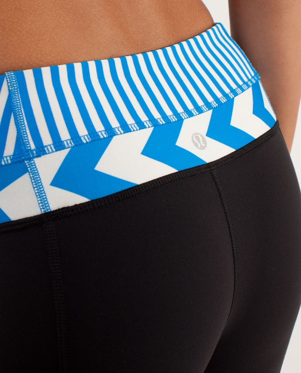 Lululemon Groove Pant *Slim (Tall) - Black / Classic Stripe Polar Cream Beaming Blue / Arrow Chevron Heathered Polar Cream Blu