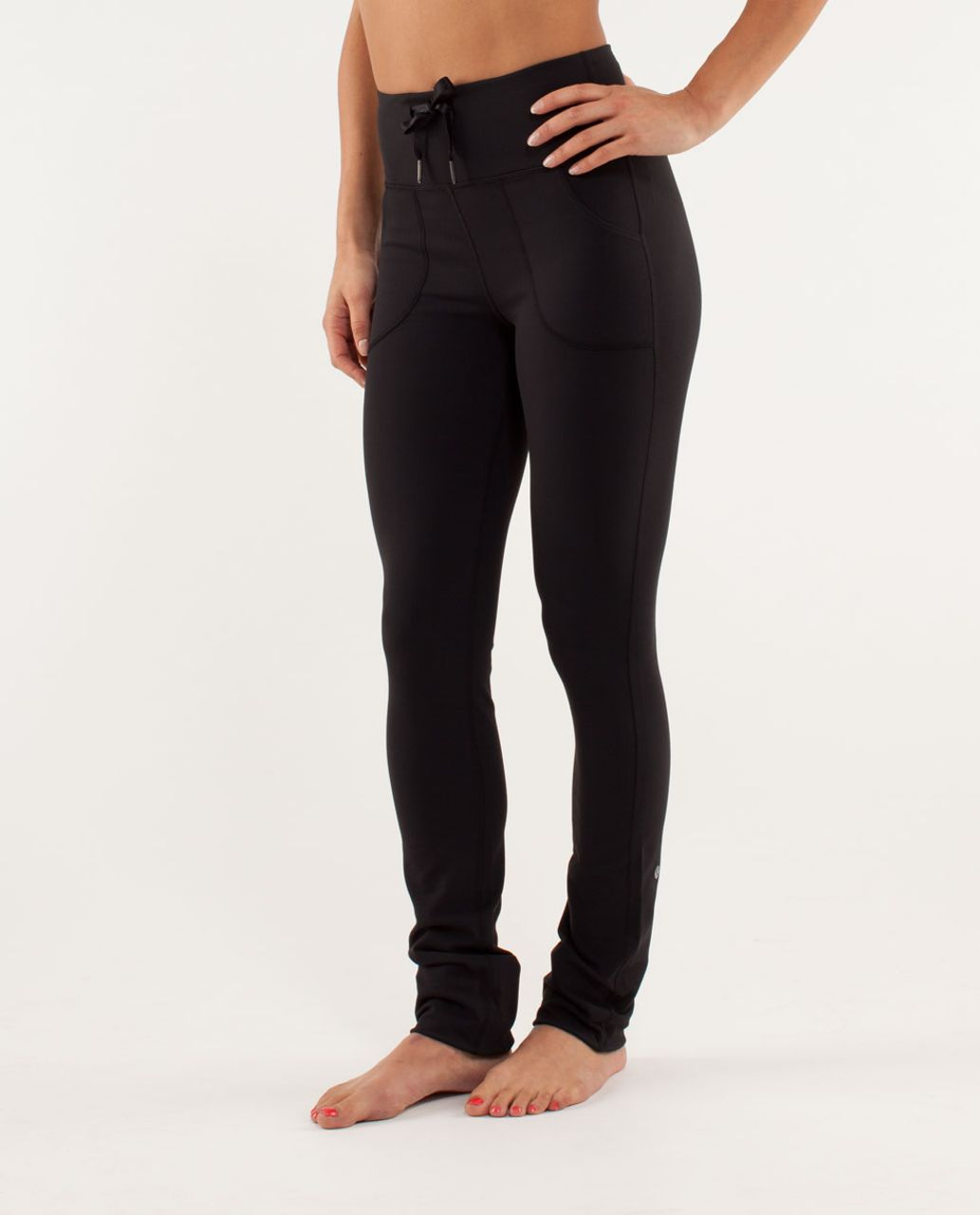 7418bac4cb Lululemon Skinny Will Pant - Black - lulu fanatics