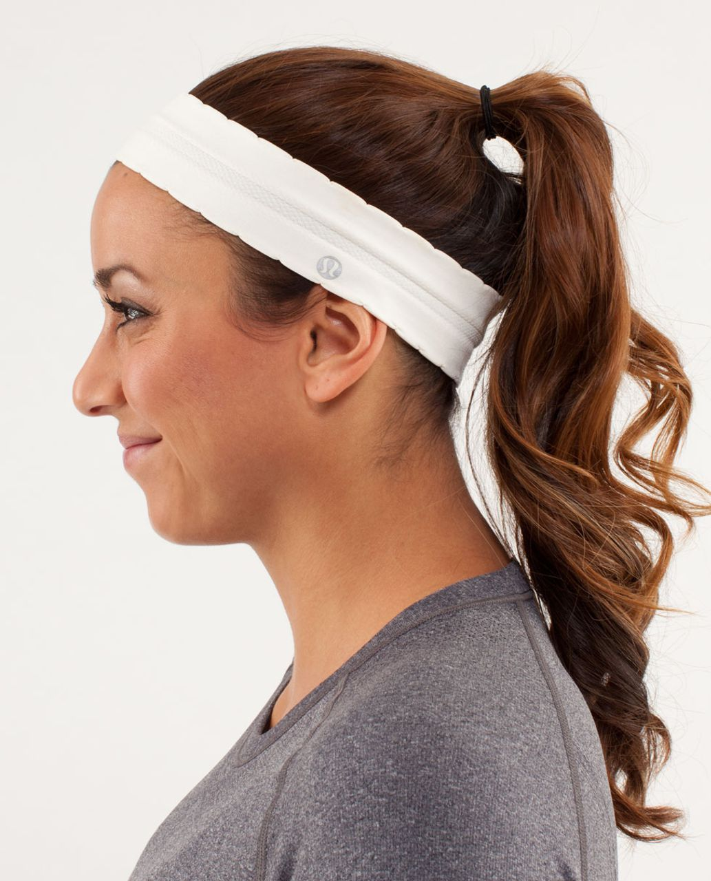 Lululemon Swiftly Headband - Polar Cream
