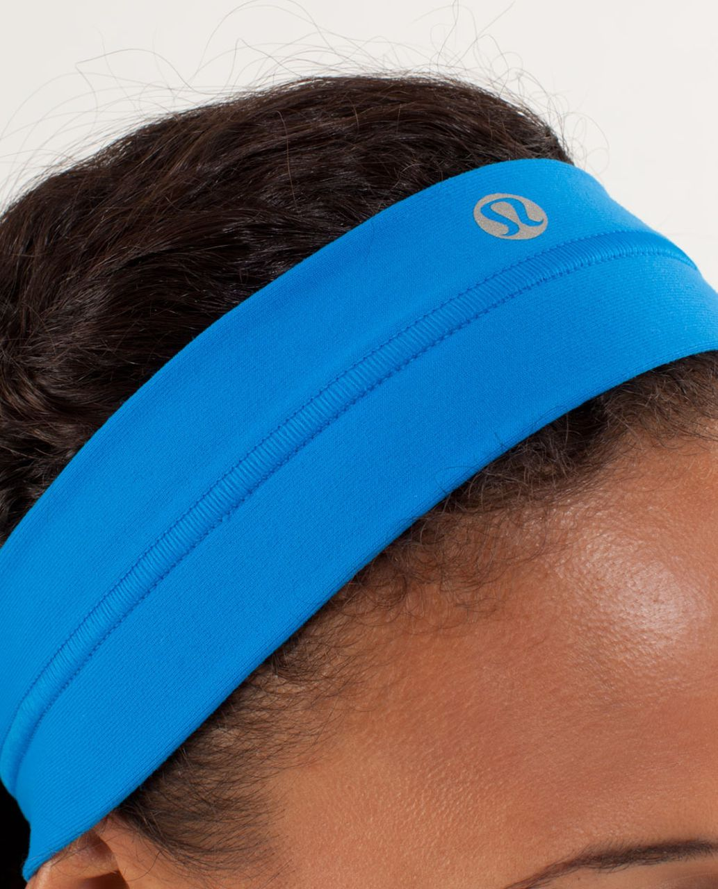 Lululemon Fly Away Tamer Headband - Beaming Blue
