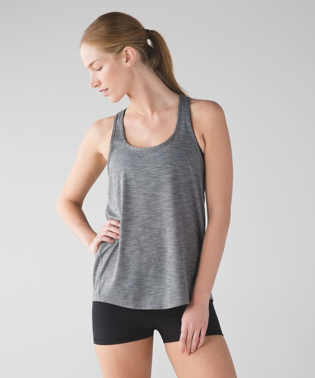Lululemon Salute the Sun Tank - Heathered Slate