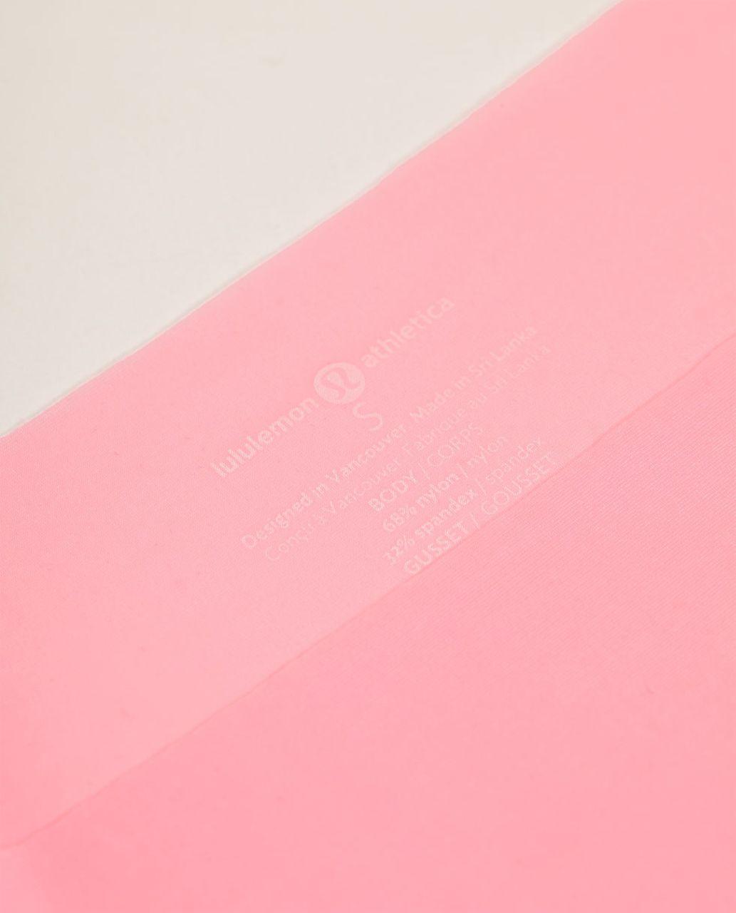 Lululemon Light As Air Thong - Pink Shell