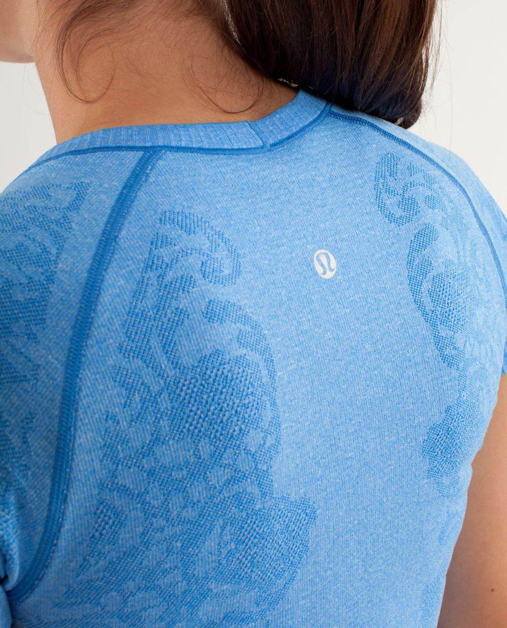 Lululemon Run:  Swiftly Tech Short Sleeve *Lace - Beaming Blue