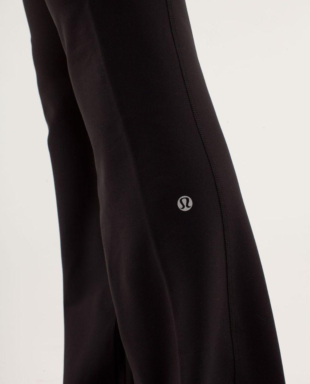 Lululemon Groove Pant *Slim (Regular) - Black /  Quilting Winter 12