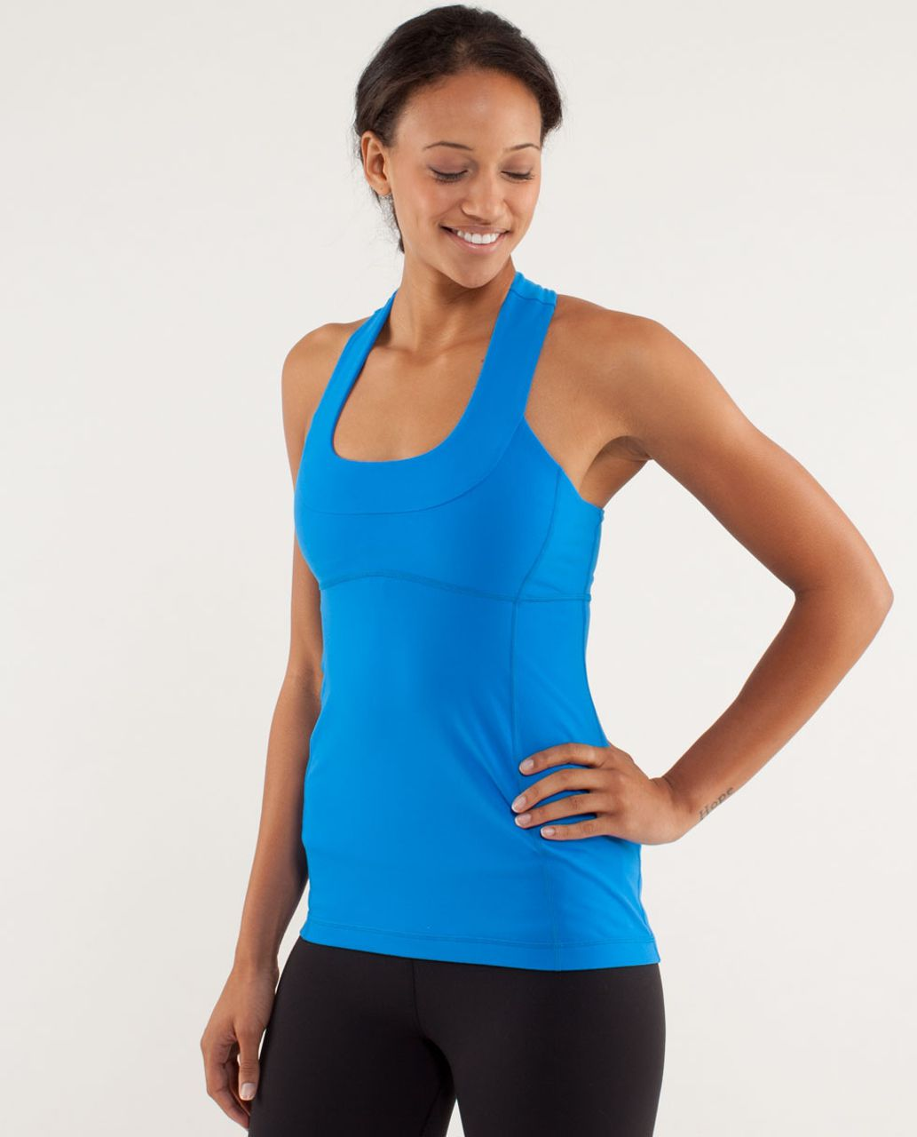 Lululemon Scoop Neck Tank - Beaming Blue