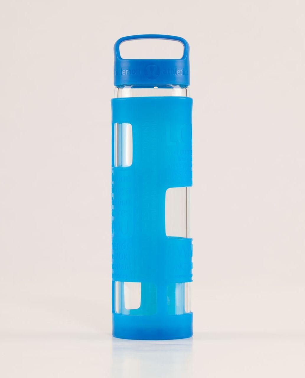 Lululemon Pure Balance Water Bottle - Beaming Blue