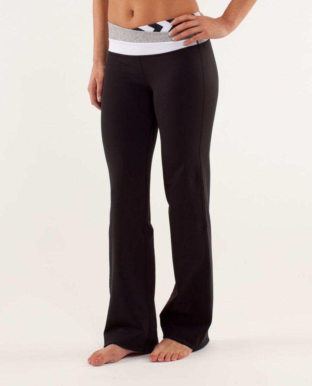Lululemon Astro Pant (Regular) - Black / Arrow Chevron White Black / Herringbone White Black